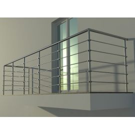 Balustrada nierdzewna INOX - SYSTEM OTWARTY