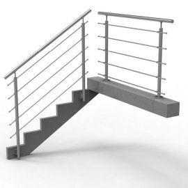 balustrada nierdzewna na schody