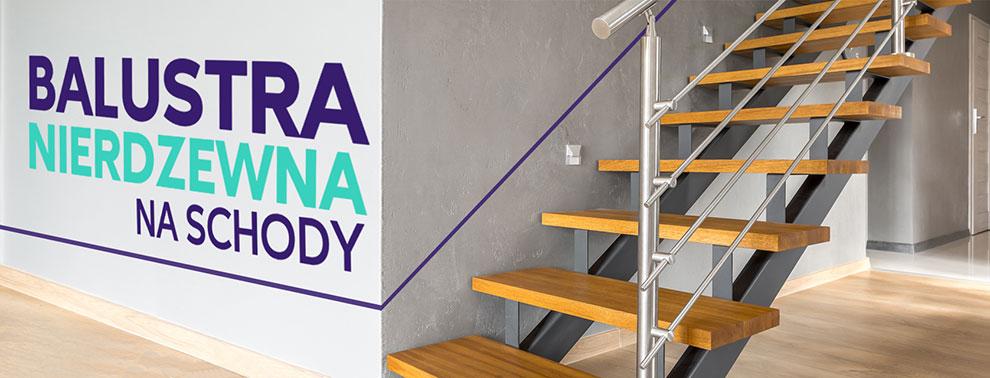 balustrada-nierdzewna-drewno-na-schody