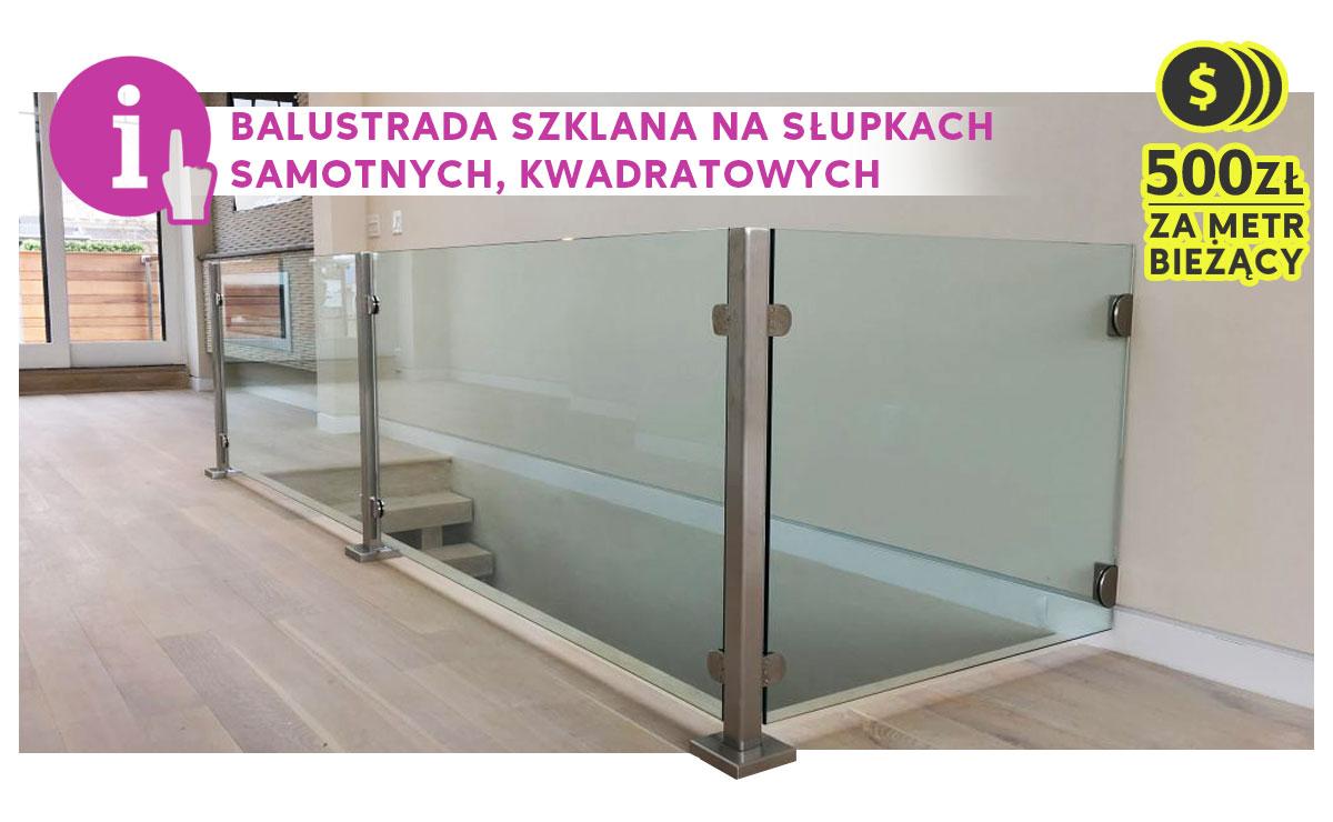 balustrada-szklana-na-słupkach-kwadratowych