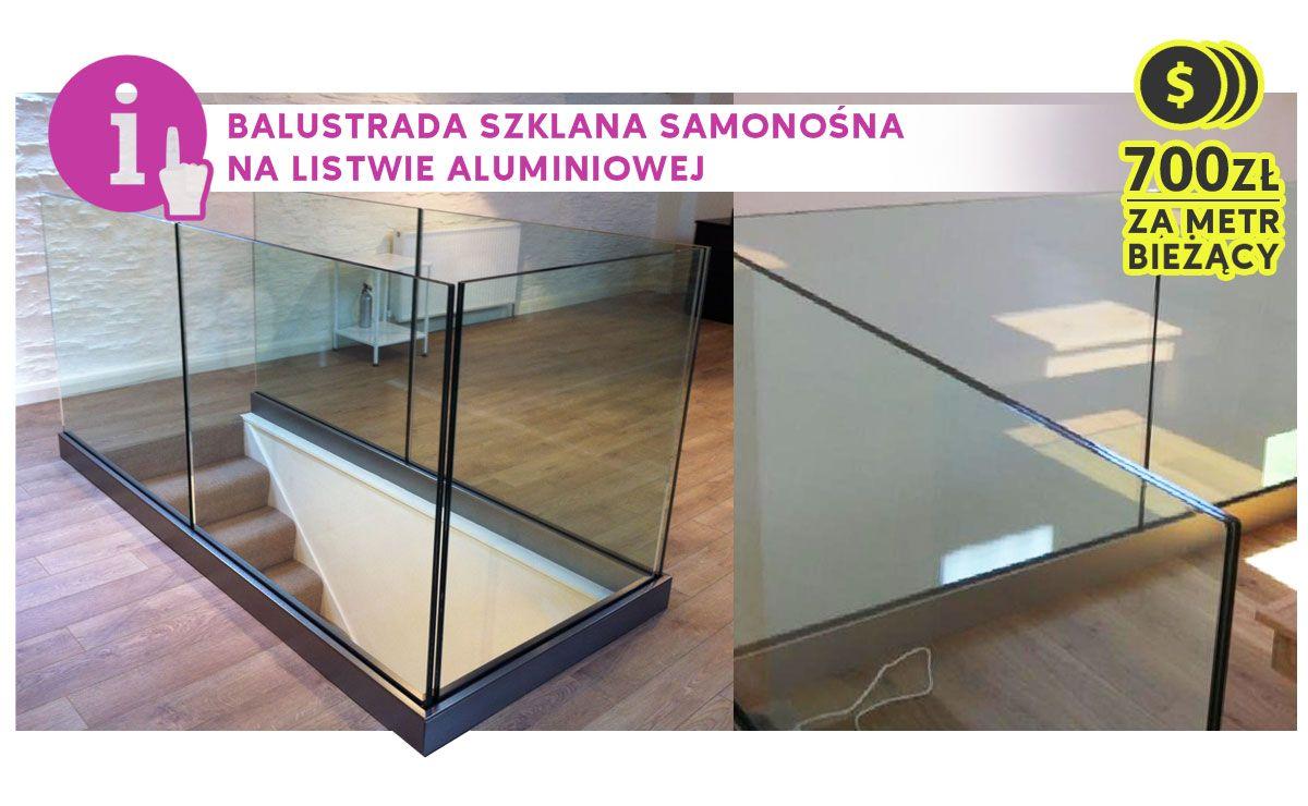balustrada-szklana-nośna-na-listwie-aluminiowej